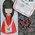 521. carte petite fille