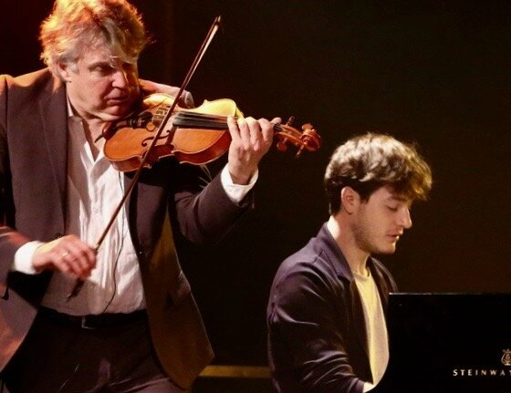 FESTIVAL JAZZ 2017 THOMAS ENHCO DIDIER LOCKWOOD piano violon