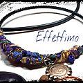 bracelet en feutrage soleil