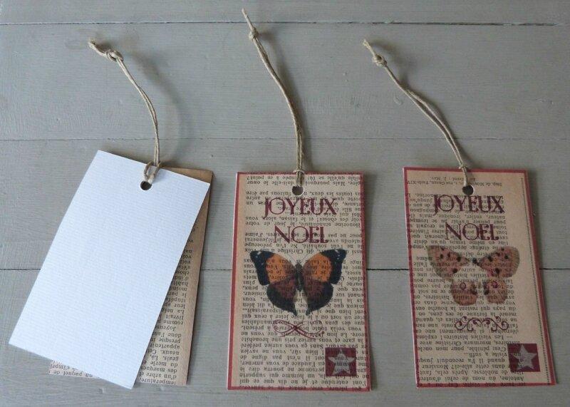 Etiquettes Joyeux Noel Papillons (49)