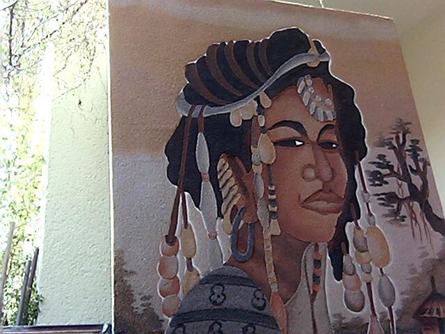 """Tout en sable """"Sabléisme art afro senegal"""""""