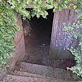 Entrée d'un souterrain....
