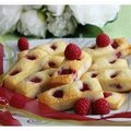 Financiers aux framboises.....