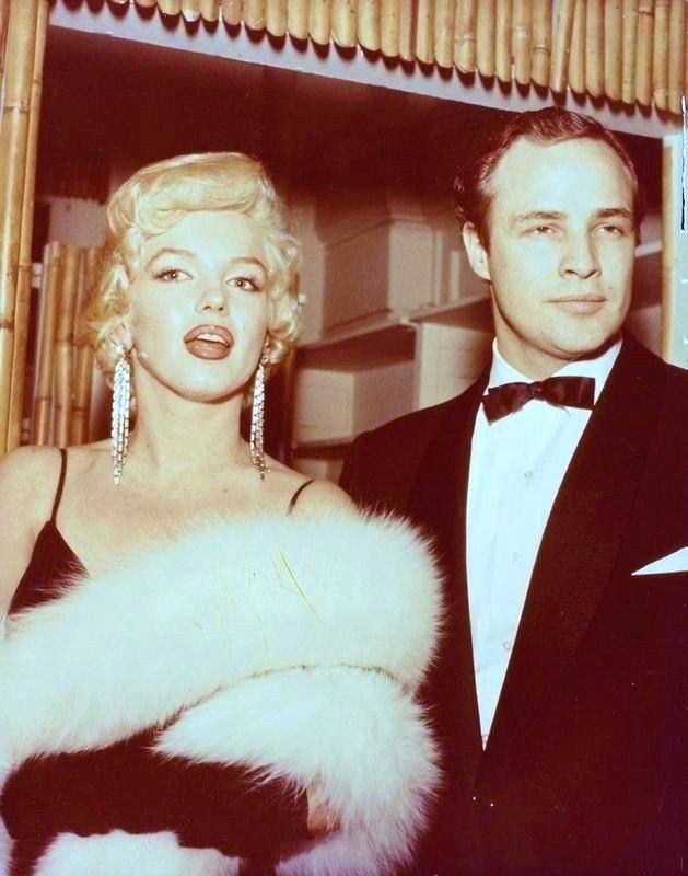 Marlon Brando couple