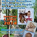 Salon du monde merveilleux de l'ours et de la poupées et des miniatures
