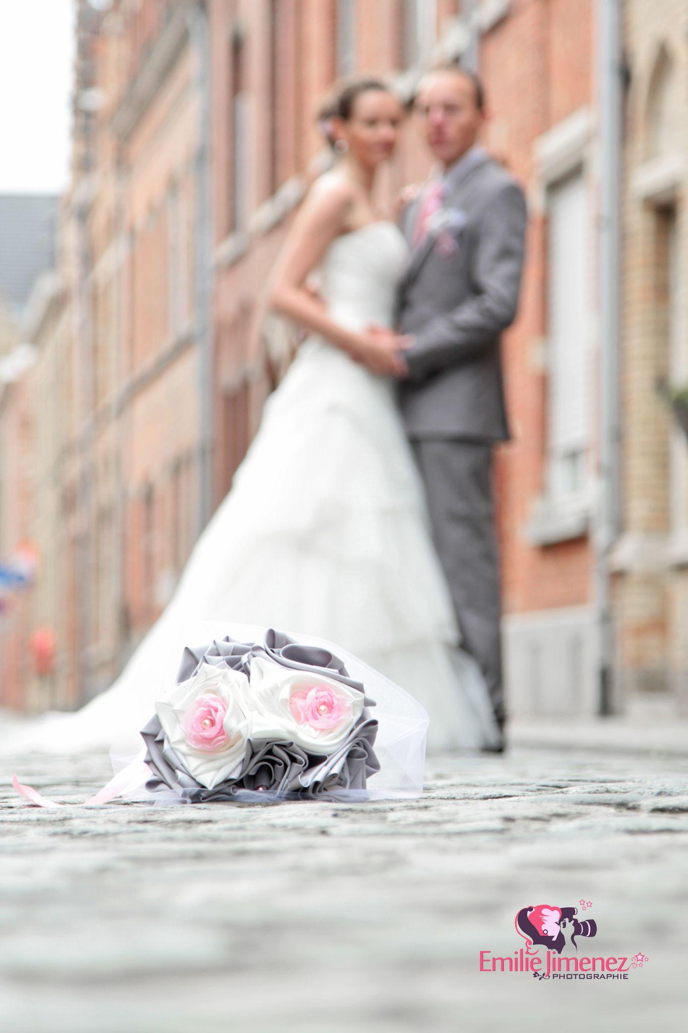 un mariage en rose et gris 2 cereza l 39 atelier du bouquet de mariage original des accessoires. Black Bedroom Furniture Sets. Home Design Ideas
