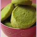 Biscuits de noël #2: sablés à la pistache