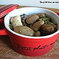 Poêlée de légumes d'automne aux marrons et aux quenelles