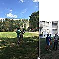Quartier drouot - initiation aux arts martiaux avec rachid chernane...