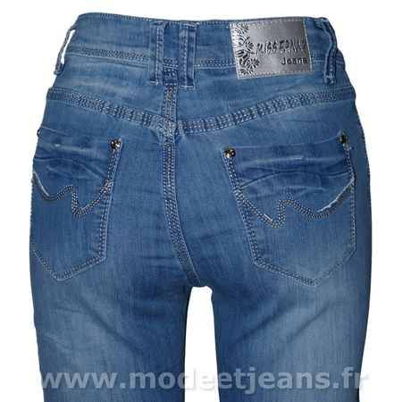 Comment transformer Jeans baggy jeans serrs Into - Mode
