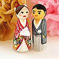 Figurines personnalisées - poupées japonaise
