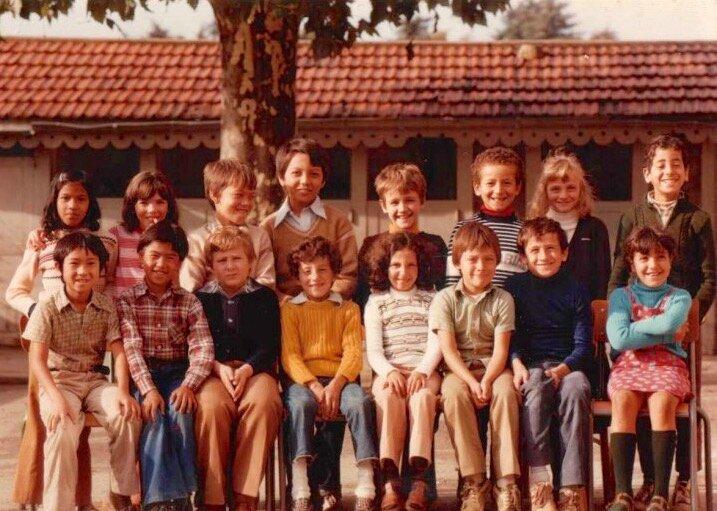 école Lavieu 1979