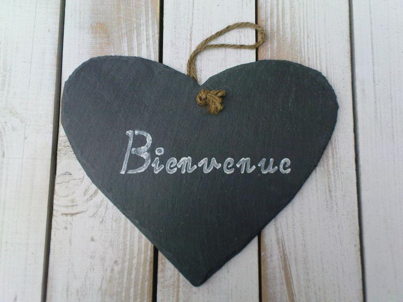 coeur bienvenue