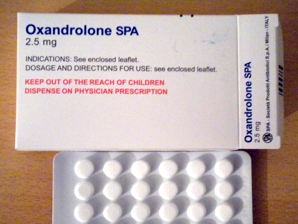 Oxandrolone SPA