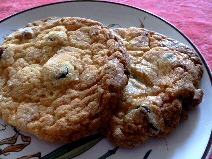 Cookies choco blanc