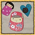 Petites broches
