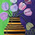 051 - tulipes au vase frelon