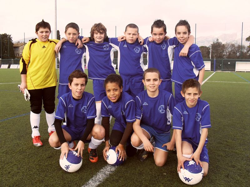 f - équipe U13 pré-excellence le 23/01/2010