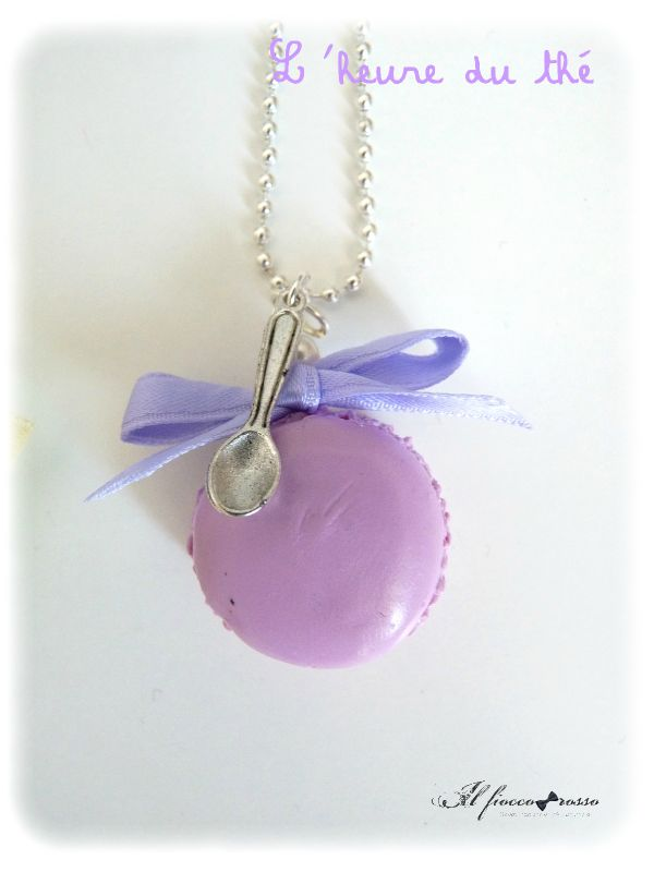 Macaron violet
