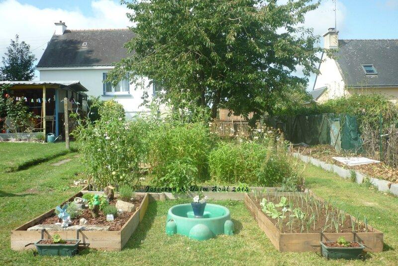 D coration jardin fait maison for Objet en pierre pour jardin