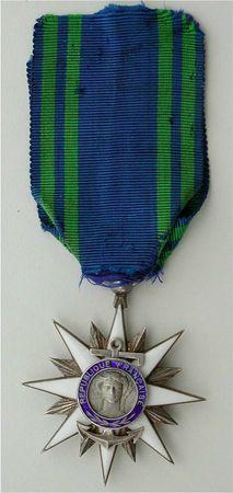 CH17 - Médaille de l'Ordre du Mérite Maritime - Daniel THOMAS