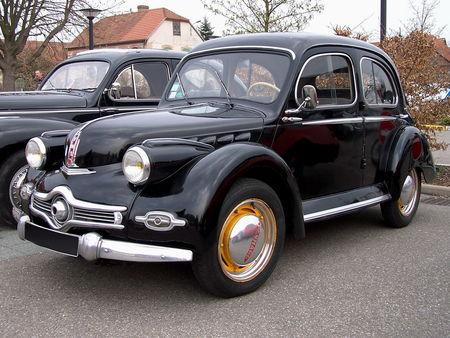 PANHARD Dyna X 1947 1953 Bourse Echanges Auto Moto de Chatenois 2009 1