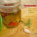 Conserves de poivrons grillés à l'huile d'olive