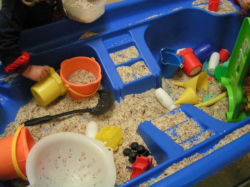 Bac à graines , ils adorent ! - Le tour de ma classe