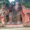 Bouddha géant de leshan (chine)