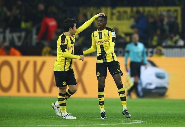 But Borussia Dortmund Augsbourg ,résumé Borussia Dortmund Augsbourg, vidéo Borussia Dortmund Augsbourg, but dembélé