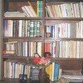 جزء من مكتبتي بالدار البيضاء