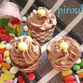 Cupcakes au chocolat d'annaelle