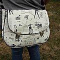 Mon sac besace modèle
