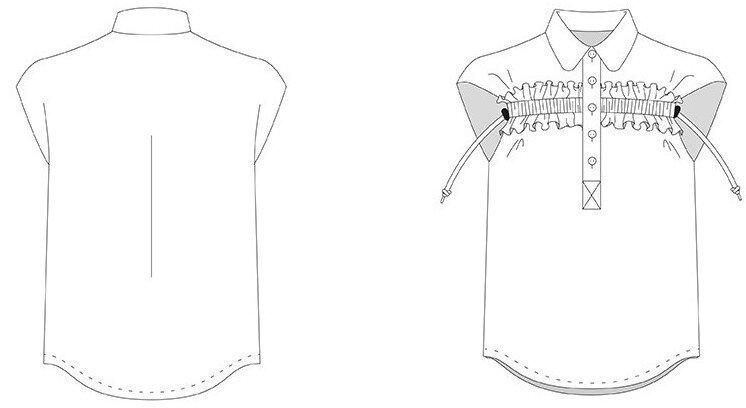 DP Studio - 505-kimono-fronce-manche-courte
