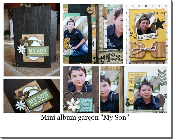 visuel mini album MY SON