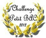 Challenge Petit Bac 2012