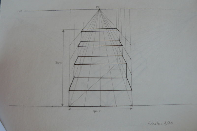 Dessin Technique Perspective Table De Lit - Dessiner Une Piece En ...