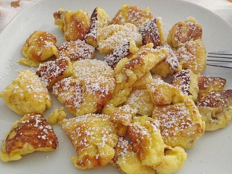 recette omelette soufflée autrichienne