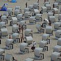 Sellin, la plage (Allemagne)