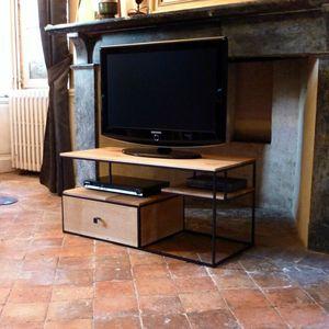 meuble tv chene