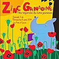 0505 Zinc Grenadine 2014 (Affiche Janik Coat)