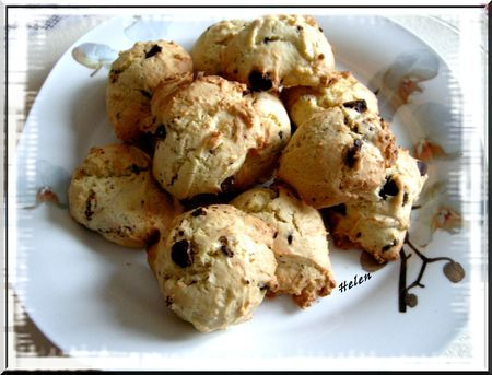 cookies petit choco