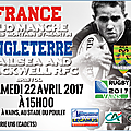 Rugby u16 : entente france sud manche vs angleterre bristol - à vains (près d'avranches) samedi 22 avril 2017