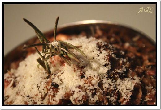 Rissoto au riz noir de thailande (1)