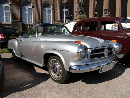 BORGWARD Isabella Coupe Cabriolet 1954 1961 Rohan Locomotion de Saverne 2010 1