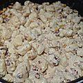 gnocchi sauce aux noix