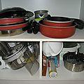 Tri/rangement/désencombrement: la cuisine