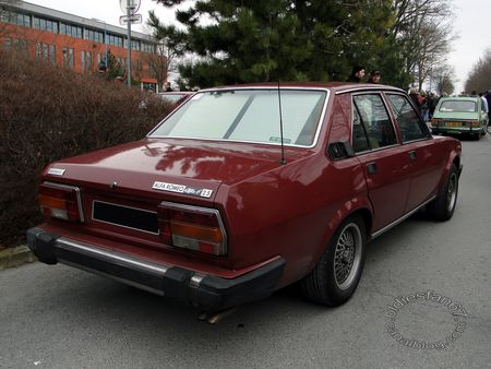 alfa romeo alfa 6 2,5 automatic 1979 salon champenois vehicule collection reims 2012 2