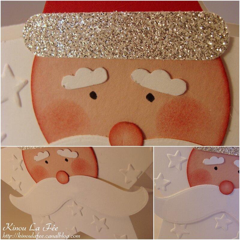 Carte Père Noël Etoile 2