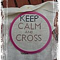 Mini sal : keep calm and cross stitch obj 3